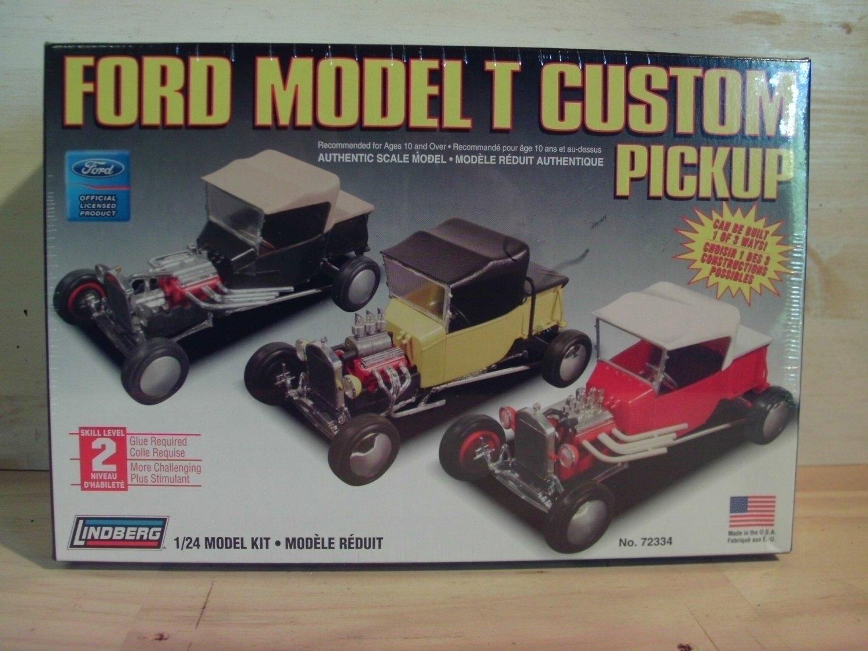 Lindberg Ford Model T Custom Pickup Model Kit in 1/24 scale - 72334