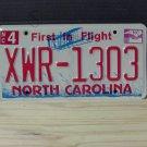 2009 North Carolina NC License Plate Tag XWR-1303