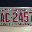 1981 North Carolina NC YOM Truck License Plate Mint AC-2457