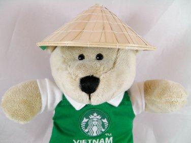 Bear Starbucks Bearista Vietnam Edition 2013 Plush nwt tags w new coffee teddy