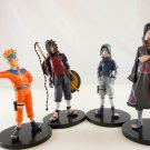 naruto figure figures set Uchiha Sasuke Itachi JUMP 4 PCS LIMITED EDITION HOT x
