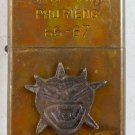 Vietnam War vintage cigarette cigarettes lighter lighters case 66 67 MONSTER