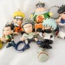naruto keychain keyring key chain anime figure figures ninja bandi kakashi neji
