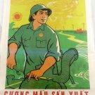 Viet Cong Vietnam War PROPRAGANDA Poster vietnamese annam leaflets LARGE S RARE