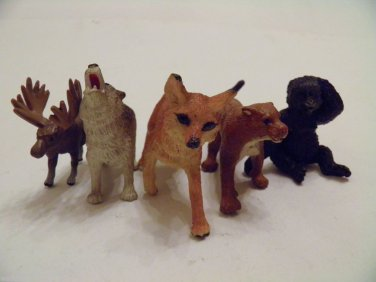 Safari Wild Animals ANIMAL JUNGLE TOYS FIGURES 12 SET Lot ZOO forest LTD FRIENDS
