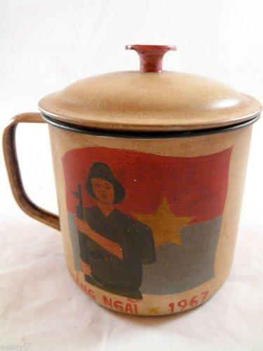 vietnam viet nam cong VIETCONG war us mug era cup rare hot 1967 1 ONE SET VC F