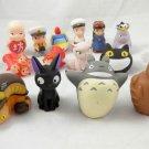 totoro Plush Anime ghibli studio my neighbor figure Miyazaki finger Doll cat bus