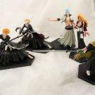 bleach figure figures anime keychain ichigo kurosaki set Toushirou Grimmjow hot