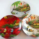 vietnam decorative collector collectors collectible plates PLATE SET MEMORIAL