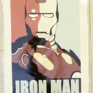 Iron Man ironman Art Poster Reprint AVENGERS rare hot handmade AND NEW X FAMOUS