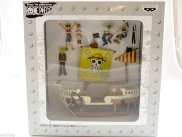 one piece 1 PCS figure FIGURES ship SET anime going merry wobbling luffy nami D