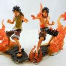 one piece figure FIGURES SET 2 PCS Monkey D LUFFY ace COLLECTION figuarts hot a