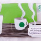 Gift Card giftcard Malaysia Starbucks Gift Edition New Collectible 2013 green a