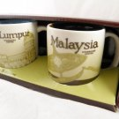 3 Oz 3Oz Starbucks Malaysia Set Global Icon Demitasse Mini Mug Espresso City cup