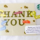 Gift Card giftcard Malaysia Starbucks Gift Edition New Collectible 2013 Thank yo