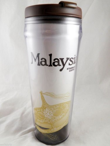 Starbucks Tumbler Malaysia Coffee Travel New Tea 12 Oz 12Oz Limited City 12oz a
