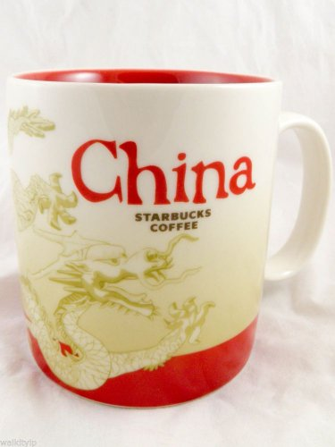 China Starbucks Mug Bone Coffee New Cup Oz White 16 16oz Series City Collector R