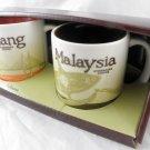 3 Oz 3Oz Starbucks Malaysia Set Global Icon Demitasse Mini Mug Espresso Penang a