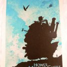 Howl Castle Moving S Ghibli Studio Poster Miyazaki Japan Hayao Sophie Calcifer b