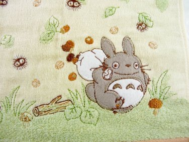 totoro studio ghibli my neighbor cotton hand towel Anime hot cat bus catbus rare