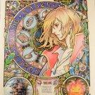 Howl Castle Moving S Ghibli Studio Poster Miyazaki Japan Hayao Sophie Paper a