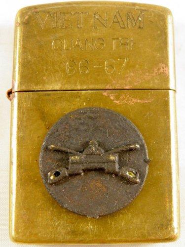 Vietnam War vintage cigarette cigarettes lighter lighters case 66 67 3d TANK HOT