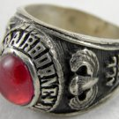 ring vietnam era military war gear collectibles SIZE 9 Red 82nd Airbrone divisio