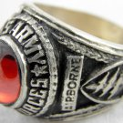 ring vietnam era military war gear collectibles SIZE 9 Red US Army Force United