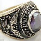 ring vietnam era military war gear collectibles SIZE 9 United States air force a