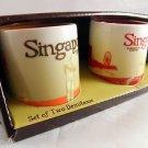 Singapore Starbucks Mug 3oz 3 oz City Series Collector Coffee Set Mini Global a