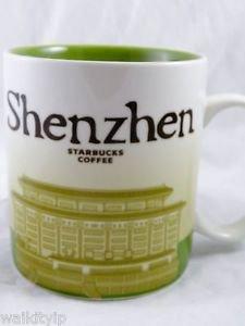 Starbucks Mug City Shenzhen China 16oz Collector Coffee Series Mugs New 16 oz a