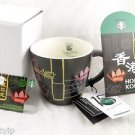Hong Kong Mug Starbucks 15th Anniversary Cup New Hk Coffee 2015 Neon 12 Oz card