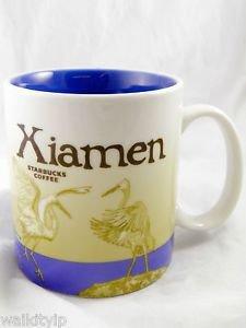 Starbucks Xiamen City Mug Series Coffee China Collector 16oz Mugs 16 Oz New Icon