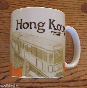 Mug Kong Hong Starbucks City Coffee Series 16oz Collector Oz New Cup China Mugs
