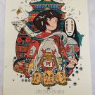 Poster Spirited Away Animation Fabric Sizes 12 x 16 Anime Giant Various Print  a