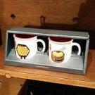 Starbucks Hong Kong 3oz Demi Mugs mug Vintage Hong Kong Traditional Food Mug Set