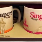 Starbucks Global Icon Collection Set of 2 Singapore Demitasse Mugs