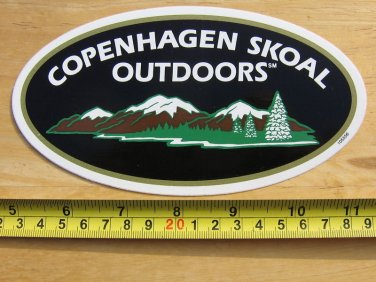 COPENHAGEN SKOAL OUTDOORS STICKER