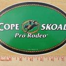 "COPENHAGEN SKOAL PRO-RODEO 8"" OVAL DECAL"