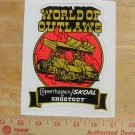 COPENHAGEN SKOAL WORLD OF OUTLAWS SHOOTOUT DECAL