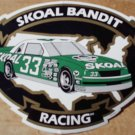 SKOAL BANDIT RACING DECAL WITH #33 CAR