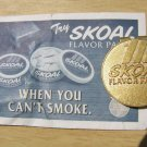 "SKOAL FLAVOR PACKS MONEY CLIP""NIP"""