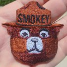 SMOKEY BEAR IRON-ON  CLOTH PATCH NEW/UNUSED