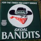 "VINTAGE SKOAL BANDITS EMBOSSED PLASTIC SIGN""NEW/UNUSED"""