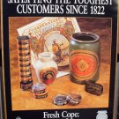 1998 COPENHAGEN VINTAGE ORIGINAL IN-STORE WINDOW SIGN PAPER