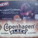 2000 COPENHAGEN BLACK 1ST ISSUE PLASTIC COUNTER MAT 17 X 14.5