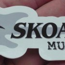 "VINTAGE ORIGINAL SKOAL BANDIT MUSIC DECAL 5"" LONG"