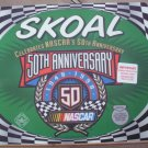 1998 SKOAL 50TH ANNIVERSARY NASCAR  PLASTIC COUNTER MAT 17 X 14.5