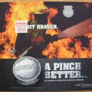 "2001 SKOAL FIREFIGHTER ""A PINCH BETTER"" PLASTIC COUNTER MAT 17 X 14.5 NEW/UNUSED"