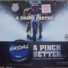 "2001 SKOAL MINT ""A SHADE FASTER"" COUNTER MAT 17 X 14.5 IN"